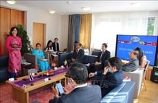 La célébration du 53e anniversaire de la fondation de l'ASEAN à Berne