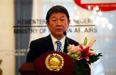 Le ministre japonais des Affaires étrangères en visite officielle à Singapour