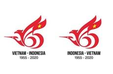 Logo marquant les liens diplomatiques Vietnam-Indonésie: un Vietnamien remporte le concours