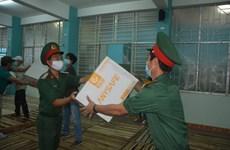 Dà Nang reçoit des dons pour lutter contre le Covid-19