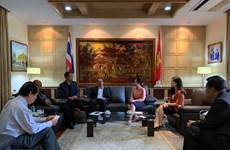 La Thaïlande propose de coopérer avec le Vietnam dans la médecine vétérinaire