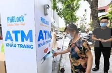 Covid-19 : la VTC remet des masques médicaux à Hanoi, Dà Nang et Quang Nam