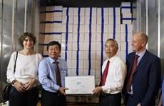 Le premier lot de crevettes du Vietnam exporté vers l'UE dans le cadre de l'EVFTA