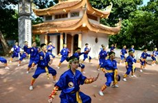 Le retour en force du Thiên Môn Dao, art martial vietnamien