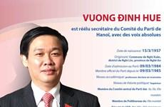 Vuong Dinh Huê est réélu secrétaire du Comité du Parti de Hanoï