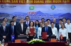 Le Vietnam et la BM signent un accord d'achat de réductions d'émissions