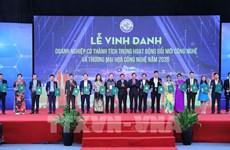 Semaine de la connectivité technologique et de l'innovation 2020 à Hanoi