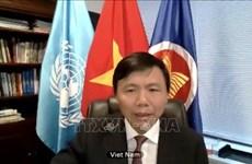 Le Vietnam réaffirme son soutien aux opérations de paix de l'ONU