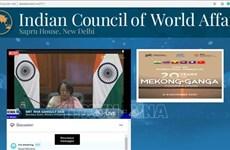 Promotion de la coopération Mékong-Gange après le Covid-19 au menu d'un séminaire en Inde