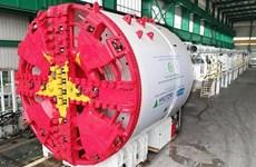 L'installation prochaine du premier tunnelier de la ligne de métro N°3 de Hanoi