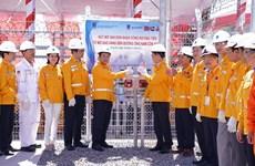 PV Gas accueille le premier flux de gaz du champs SV au gazoduc de Nam Côn Son 2