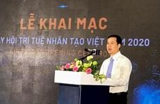 Journée de l'intelligence artificielle du Vietnam 2020 à Hô Chi Minh-Ville