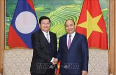 Le Premier ministre lao termine sa visite au Vietnam