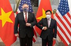 Présidence vietnamienne de l'ASEAN: les Etats-Unis et l'ASEAN boostent leurs liens