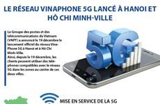 Le réseau VinaPhone 5G lancé à Hanoi et Hô Chi Minh-Ville