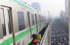 Le projet de ligne ferroviaire Cat Linh-Ha Dông s'achèvera avant fin mars prochain