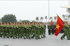 La force policière prête à assurer la sécurité du 13e Congrès national du Parti