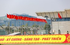 Hanoi prête à accueillir le 13e Congrès national du Parti