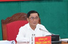Première réunion de la Commission centrale de contrôle du Parti du 13e mandat