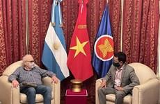 Promotion de bons liens politiques Vietnam – Argentine