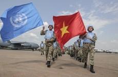 Concrétiser la résolution de l'AN sur la participation au maintien de la paix de l'ONU