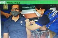 Les Philippines lancent leur campagne de vaccination contre le COVID-19