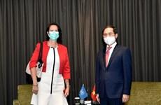 Le Vietnam et l'ASEAN recherchent une solution appropriée au Myanmar