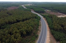 Autoroute Nord-Sud: le tronçon reliant Thua Thien-Huê à Da Nang prêt à être ouvert au trafic