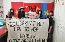 Le Parti suisse du travail soutient les victimes de l'agent orange/dioxine du Vietnam