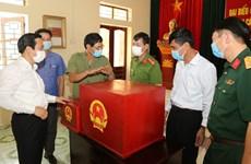 Le président de l'AN Vuong Dinh Huê préside la Conférence nationale sur les élections législatives