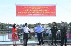 Soc Trang aide des Cambodgiens d'origine vietnamienne touchés par le Covid-19