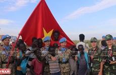 """Les casques bleus vietnamiens, des """"ambassadeurs de la paix"""""""
