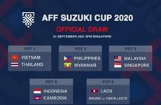 Le Vietnam dans le groupe de tête pour le tirage au sort de la Coupe AFF 2020