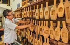 Les moules à gâteaux de lune en bois, un artisanat qui perdure à Hanoï