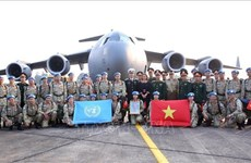 Le Vietnam va poursuivre ses contributions aux efforts de l'ONU pour la paix au Soudan du Sud