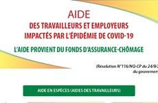 Aide des travailleurs et employeurs impactés par l'épidémie de Covid-19