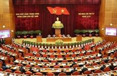 Ouverture du 4e Plénum du CC du Parti du 13e mandat