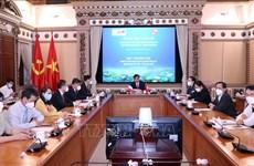Promotion de la coopération entre Hô Chi Minh-Ville et Lyon (France)