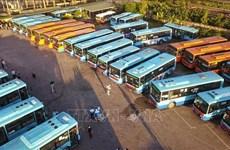 Les localités autorisées à augmenter le transport interprovincial de passagers