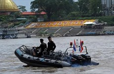 Quatre pays lancent la 80è patrouille conjointe sur le Mékong