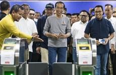 L'Indonésie inaugure son 1er réseau de transport en commun rapide