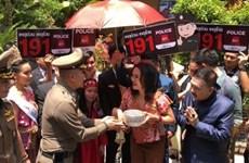 Thaïlande: le nombre de touristes devrait chuter de 10% durant la fête de Songkran