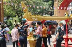 La fête du Nouvel An traditionnel bat son plein au Laos