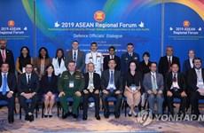 Les responsables de la défense de l'ARF discutent de la sécurité