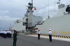L'exercice de sécurité maritime de l'ADMM+ à Singapour