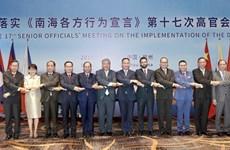 Mer Orientale : l'ASEAN et la Chine discutent de la mise en œuvre du DOC