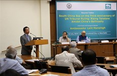 Séminaire en Inde sur la décision de la CPA sur la Mer Orientale