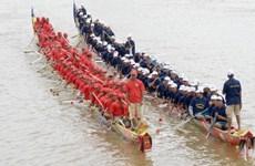 Le Cambodge établit un record Guinness pour la plus longue pirogue Ghe Ngo du monde
