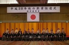 Le président de l'Association des Vietnamiens au Japon reçoit l'Ordre du Soleil Levant