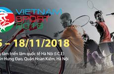 Ouverture de l'exposition internationale Vietnam Sport Show 2018